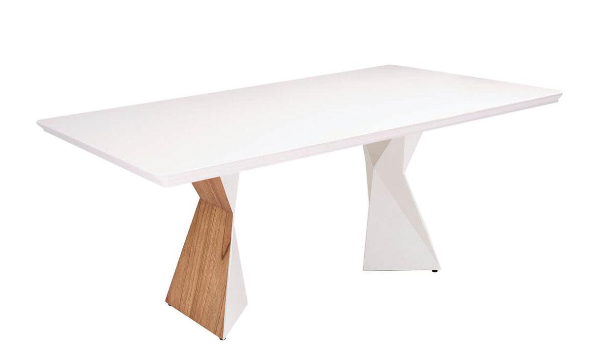 Mesa de Jantar Branca Cubo