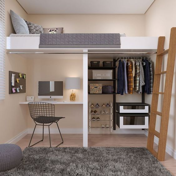 home office no quarto 4