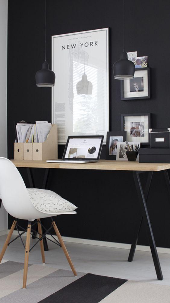 organizador home office quarto